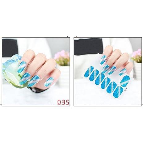 Distinct nail stickers fingernail art sticker design tip diy decoration