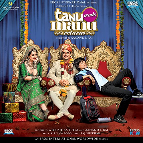Tanu Weds Manu Returns Hindi Blu Ray (Kangana Ranaut, Madhavan, Deepak Dobriyal) 2015 Bollywood film cinema