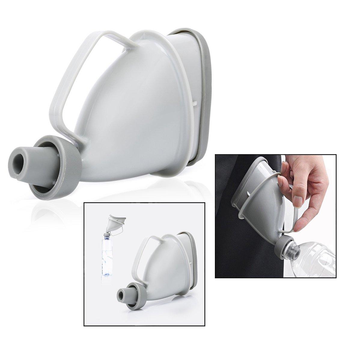 OFKPO Orinatoio portatile Riutilizzabile per Campeggio Urinali Bottiglia Piccoli Orinatoi
