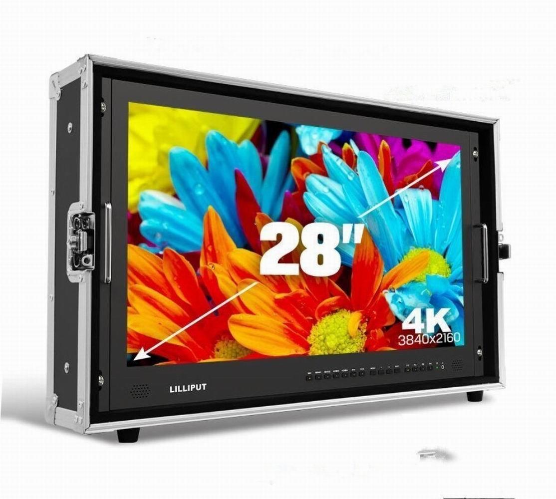 円高還元 LILLIPUT BM280-4K B01N34PZB7 28インチ 放送 ビデオモニタ/監督モニター Ultra-HD 4K ビデオモニタ* 3840* 2160の解像度 3G-SDI HDMI 1000:1 高コントラスト LEDスクリーン ケース付き【並行輸入品】 B01N34PZB7, エフタイム:73296a53 --- staging.aidandore.com
