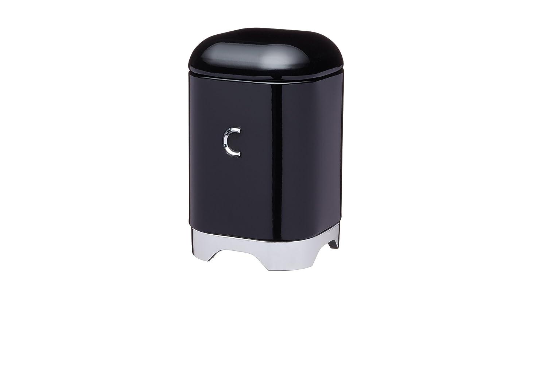 Kitchen Craft Lovello–Bote para café, 11x 19cm (4.5x 7.5), Color Negro LOVCOFFEEBLK