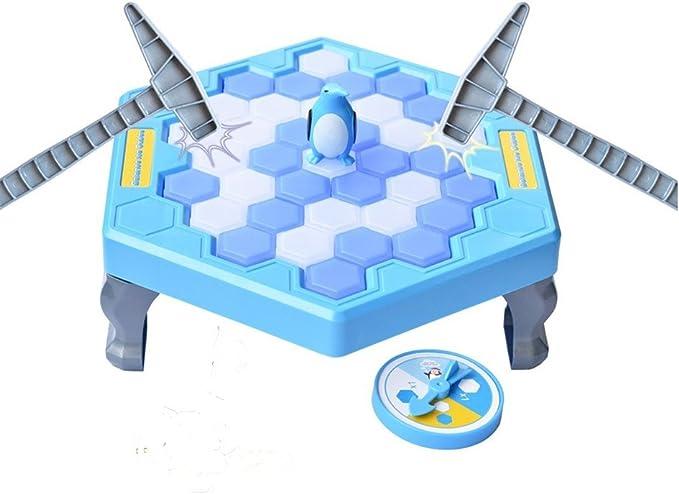 Juegos de Rompehielos Ahorro Juego de trampa de pingüinos Juego de mesa de educación temprana para niños Rompecabezas Juegos de mesa para niños Adultos Juego de escritorio familiar interactivo con amigos: Amazon.es: