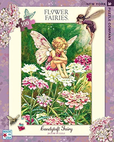 New York Puzzle Company - Flower Fairies Candytuft - 100 Piece Jigsaw Puzzle (Electronic New Puzzle York)