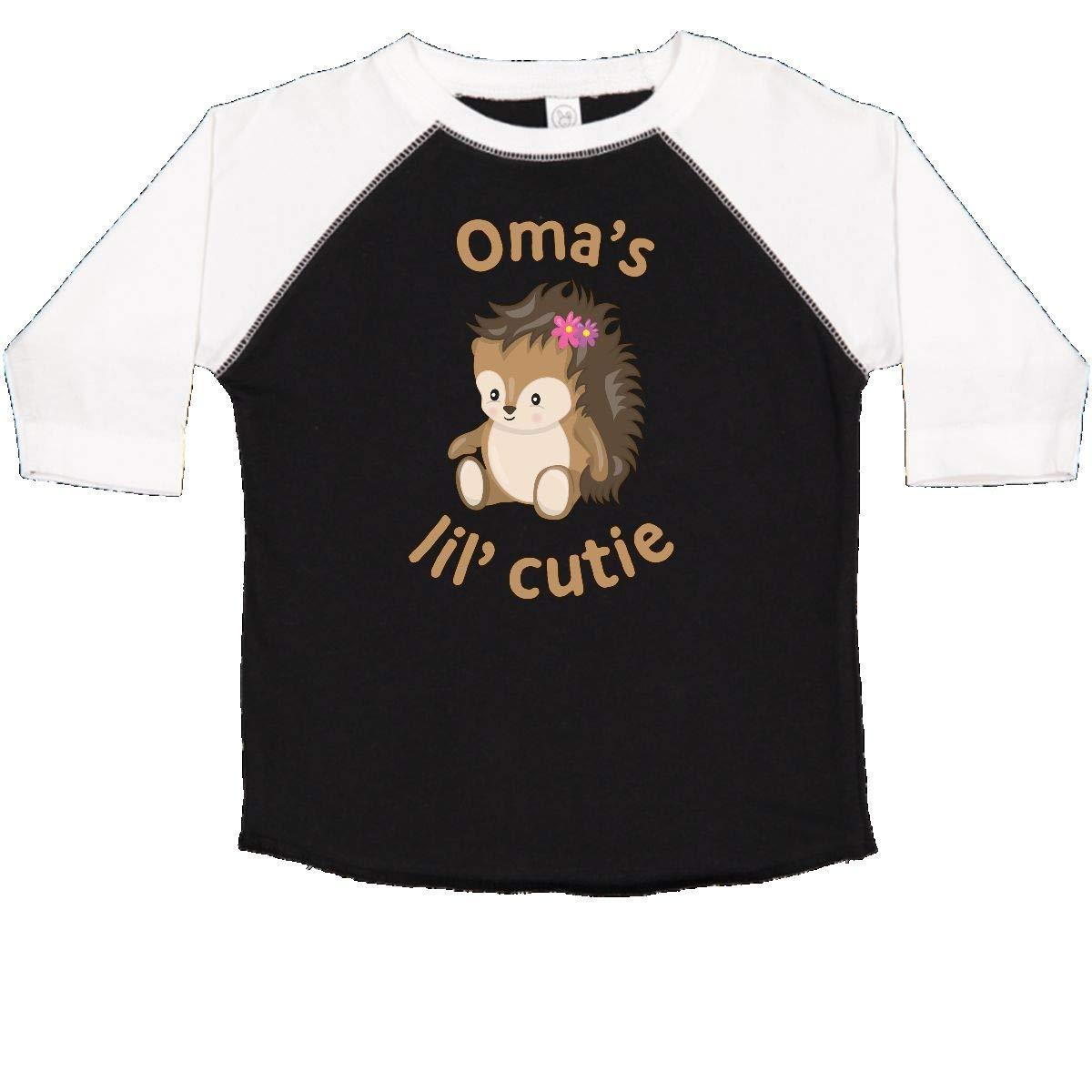 inktastic Omas Lil Cutie Toddler T-Shirt