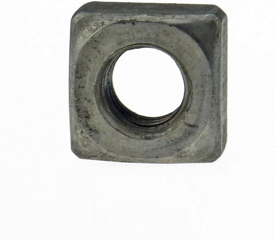 Vierkantmutter DIN 557 5 Stahl blank M 6-100 St/ück