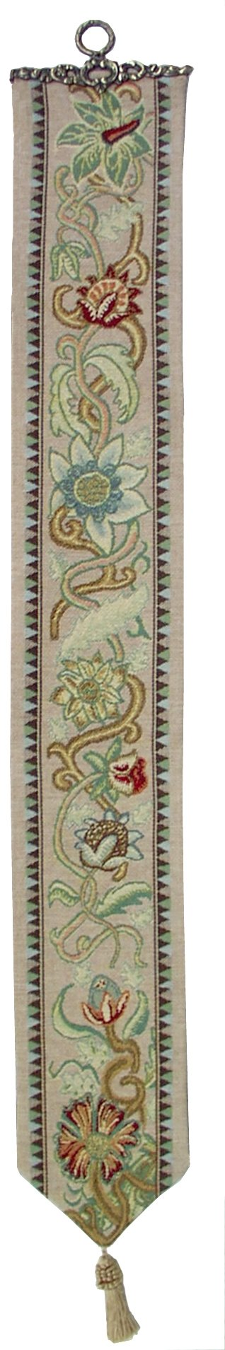 Tree of Life - Pastel I Belgian Tapestry Decorative Bell Pull by Charlotte Home Furnishings Inc. (Image #1)