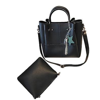 Sale Clearance Women Handbag Halijack Ladies Zipper 2 Pcs Shoulder Bag  Lightweight Classic Modern Tote Shoulder bfc8c3a054c4b