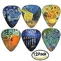 Van Gogh Famous Paintings Guitar Picks