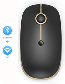 Jelly Comb Slim Dual Mode 2.4GHz Bluetooth Wireless Mouse