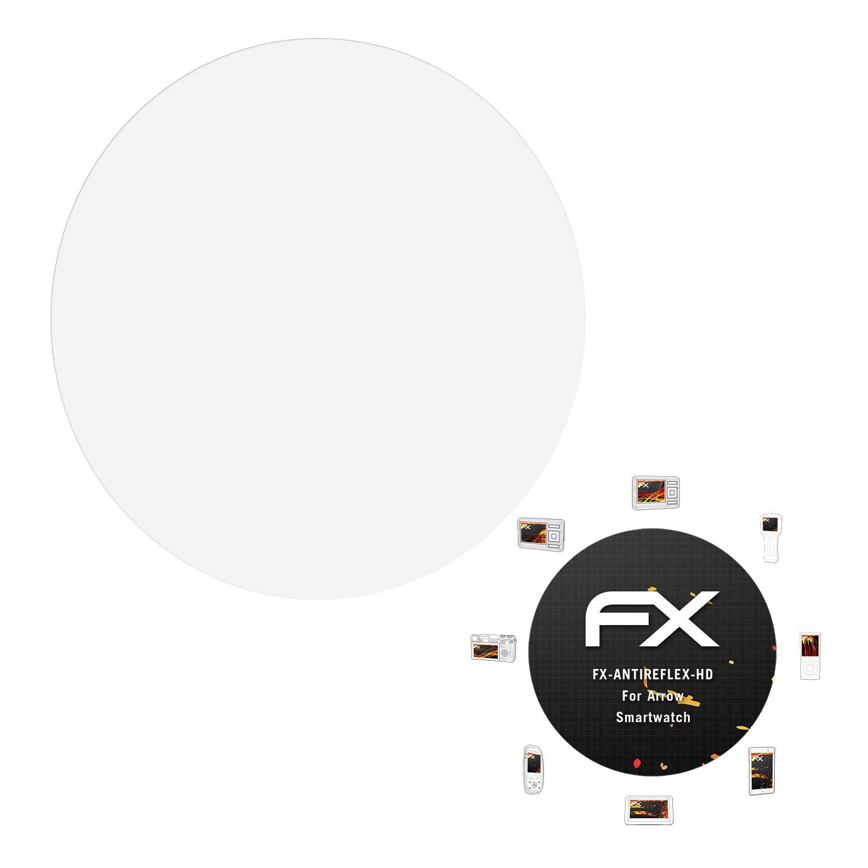 atFoliX Protector Película para Arrow Smartwatch Lámina Protectora ...