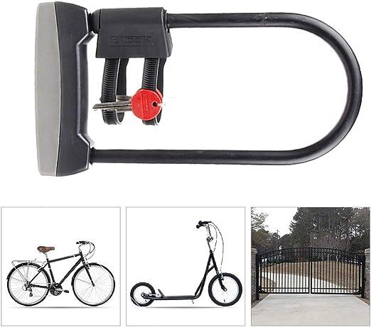 KuaiKeSport Candado Bicicleta Alta Seguridad,Bicicleta U-Lock ...