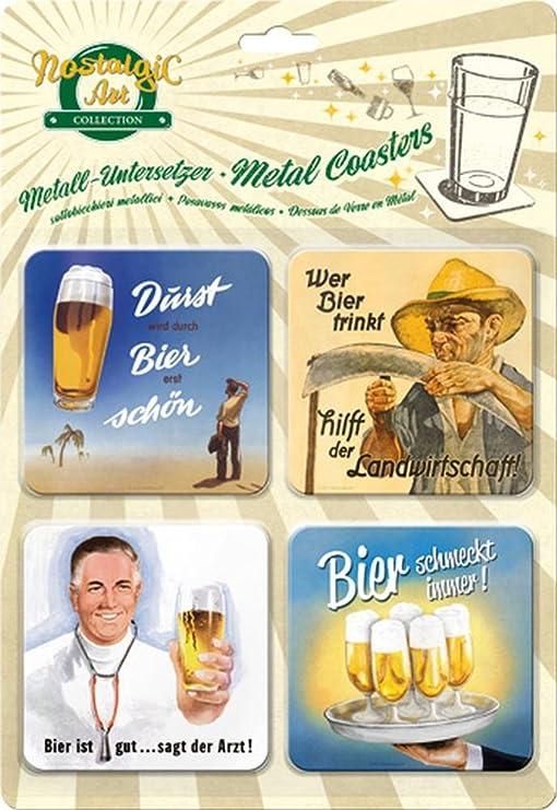 Nostalgic-Art 46127 Bier und Spirituosen Caipirinha Untersetzer