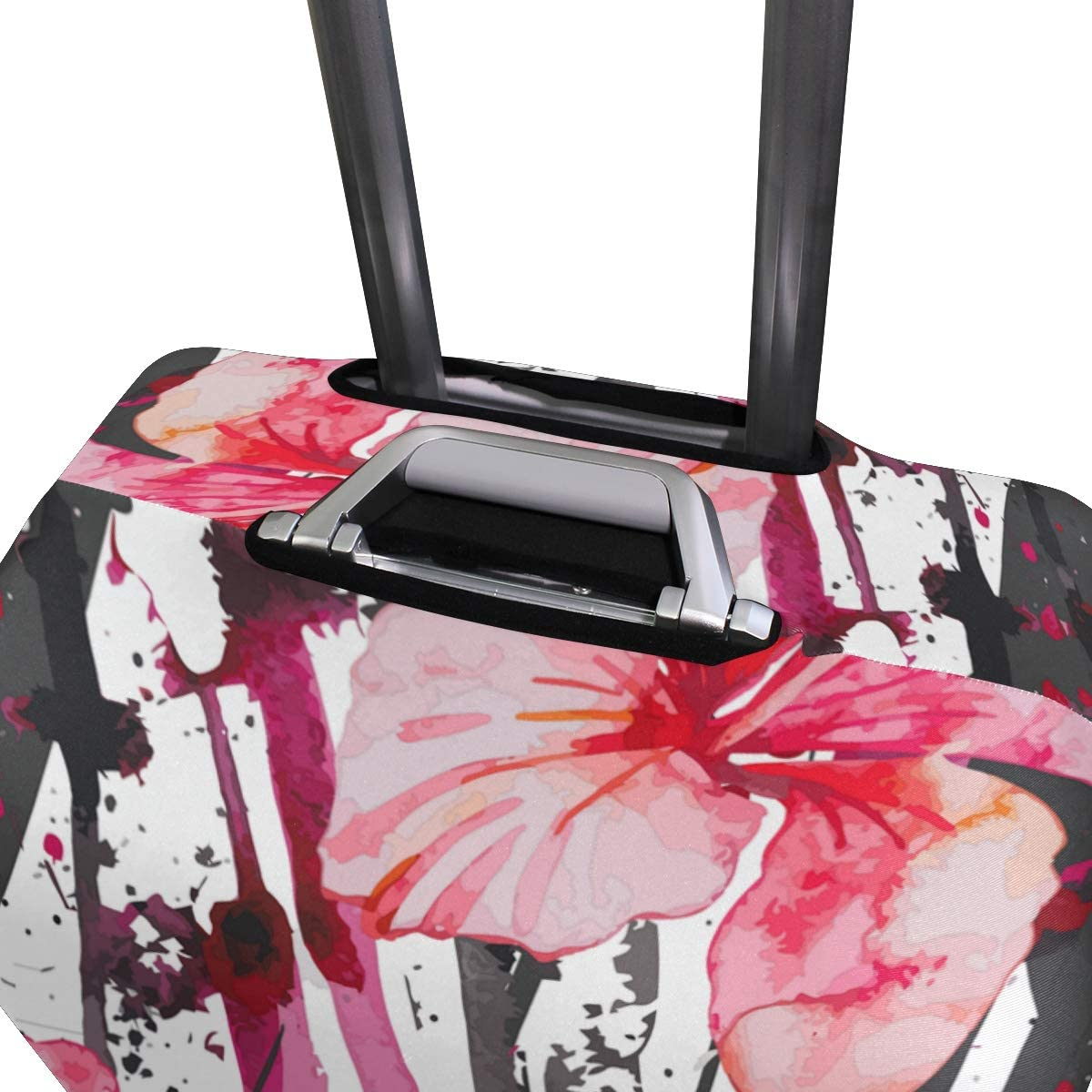 Travel Luggage Cover Protector Suitcase Washable Cover High Elasticity Fits 18-32 Inch Luggage Covers