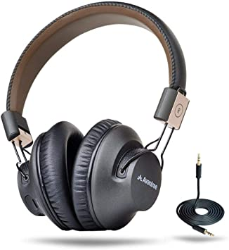 Avantree Audition Pro 40 Horas Aptx Baja Latencia Auriculares Inalambricos para TV PC, Plegable Cascos Bluetooth de Diadema con Micrófono, Cómodo Hi-Fi Sonido Estéreo Audífono para Moviles Música: Amazon.es: Electrónica