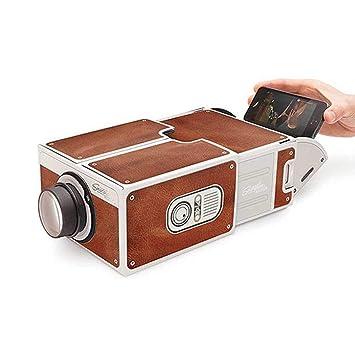 DIY Mini Smartphone Proyector Teléfono portátil Proyector ...