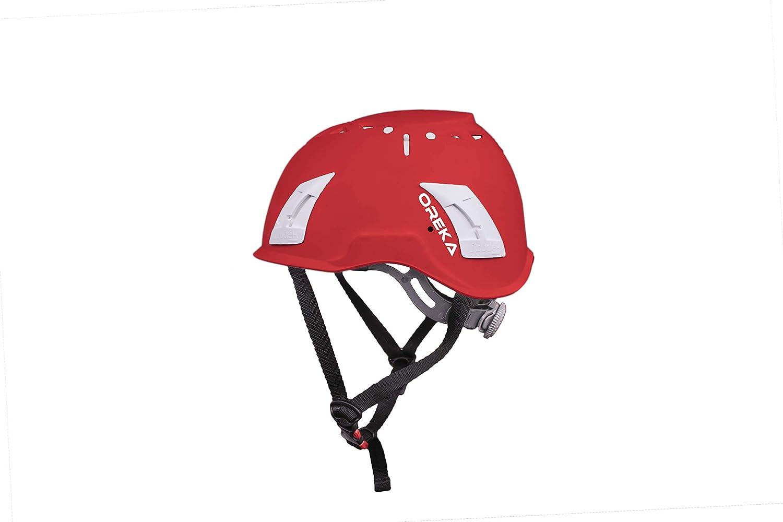 BIANCO Talla /única 1 Casco Irudek Mod OREKA Casco de protecci/ón de la cabeza EN397