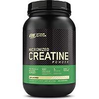 Optimum Nutrition Micronized Creatine Monohydrate Powder, Unflavored, Keto Friendly...