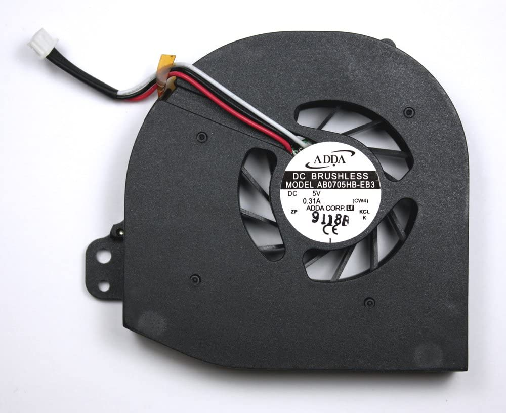 Power4Laptops Replacement Laptop Fan for Acer AB0705HB-EB3, Acer Travelmate 2300, Acer Travelmate 2301LC, Acer Travelmate 2301LCI, Acer Travelmate 2301WLCI