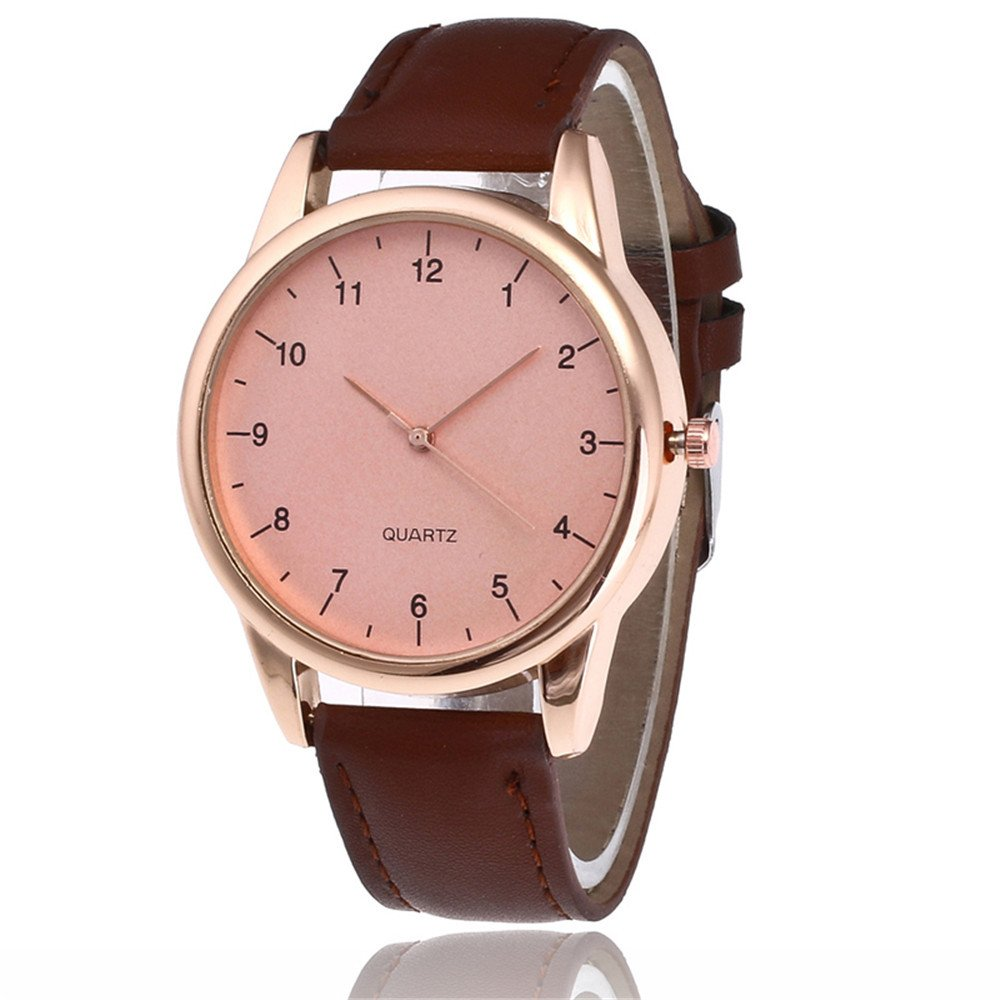 Women Watches Leather Band,Teens Analog Clearance Ladies Wrist Watch Fashion Watches for Women Comfortable Wristwatch