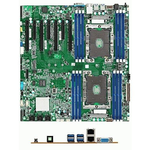 Tyan Pcie Motherboard (Tyan Motherboard S7100GM2NR HX S7100 Intel Xeon Scalable C621 LGA3647 DDR4 PCI Express SATA Retail)