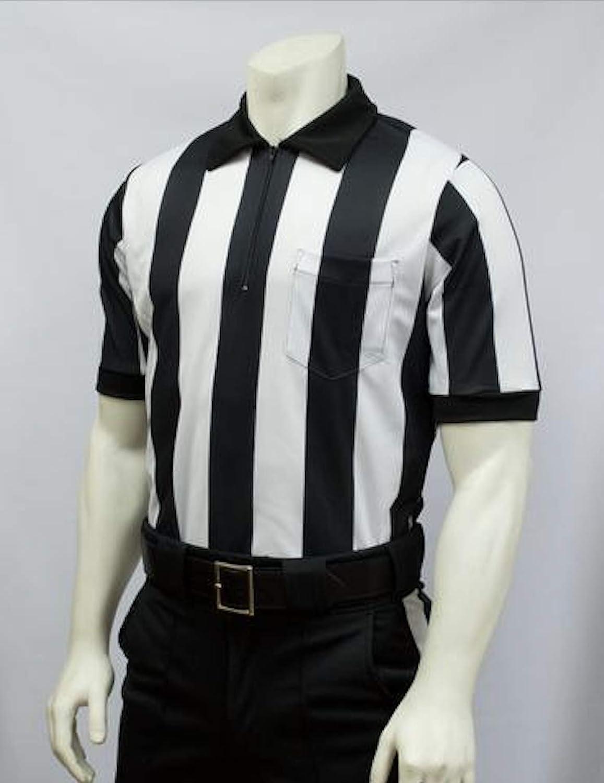 FBS-137 Smitty 2 1//4 Stripe MESH Football Officials Short Sleeve Shirt