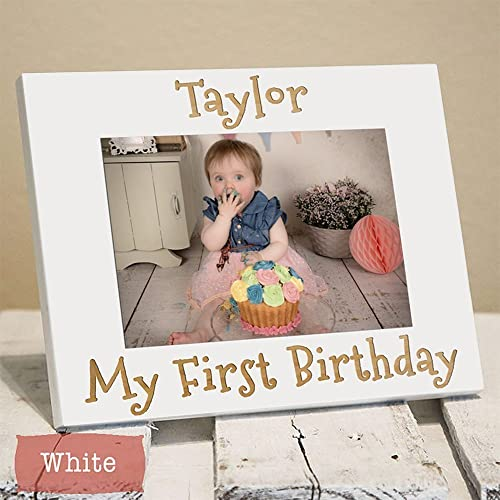 Amazon personalized first birthday frame first birthday personalized first birthday frame first birthday gift baby gift baby name negle Image collections
