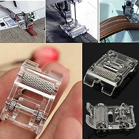 Máquina de coser pie Rodillo De Cuero