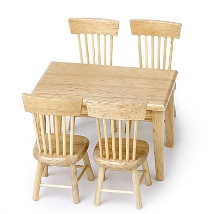 Sodial R 5 Pieces Ensemble Salle A Manger Chaise Modele Maison De