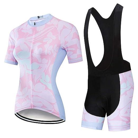 Traje de jersey de ciclismo para mujer Ciclismo de verano Ropa de ...