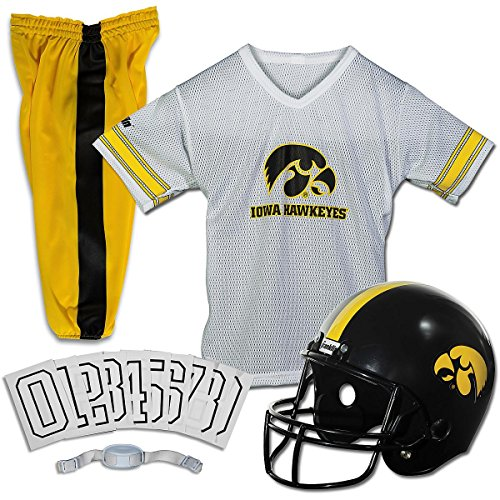 Franklin Sports Iowa Deluxe Uniform Set - Medium -