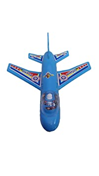 Krishna Kids Toys Attractive and Cute Baby Toy Airplane Abs Plastic and Bpa Free (Multicolor)