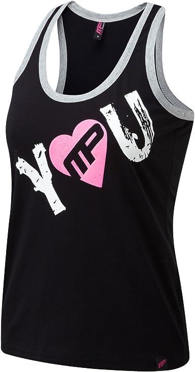 Musclepharm - Camiseta sin Mangas para Mujer, diseño de ...