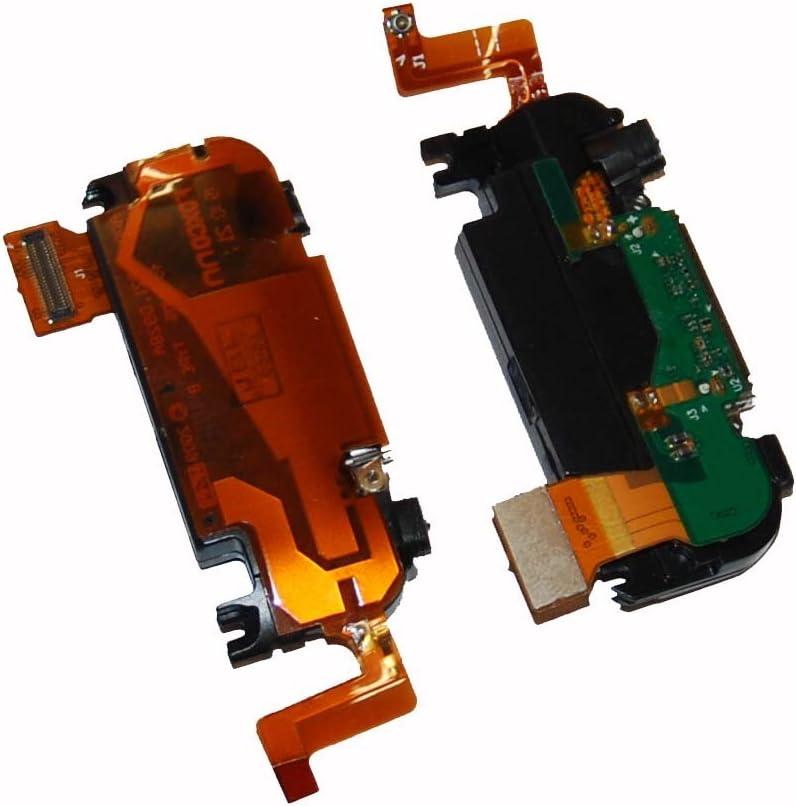 Base de antena puerto micrófono altavoz Flex cable conector para Apple iPhone 3GS 3 GS