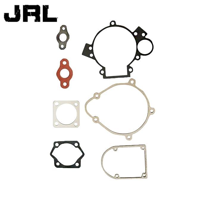 jrl 2 x 80 cc motorizada de ajuste Kit de juntas para bicicleta Push Bike Motor Motor Parte: Amazon.es: Coche y moto
