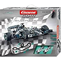 Carrera 20062364 - Go Silver Stars, Spielbahnen