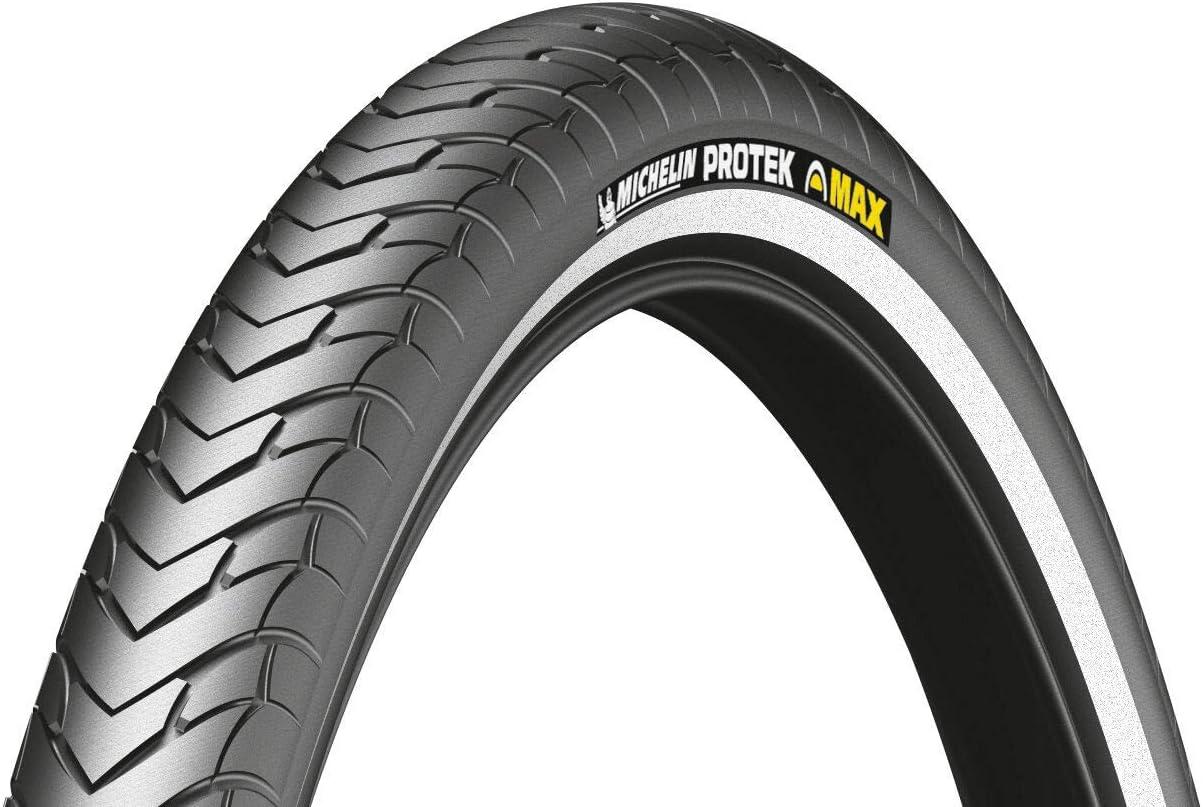 Noir 700 x 28C Michelin Protek Rigide Pneu de VTC Mixte Adulte