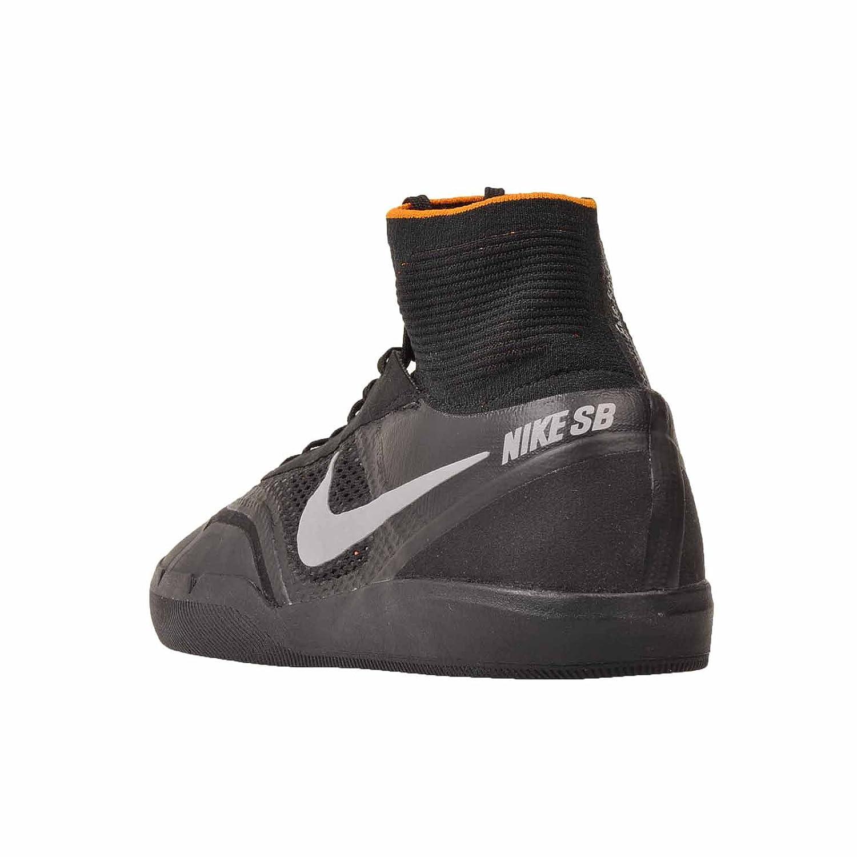 sale retailer a4ebf 841c4 NIKE Air Zoom SB Hyperfeel Eric Koston 3 XT Sneaker Modelo actual 2016  Negro   Plata   Naranja Negro   Plata-arcilla Naranja