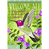 Carson Home Accents FlagTrends Classic Large Flag, Welcome All Big and Small