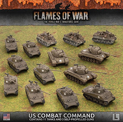 Flames of War: Late War: United States: Combat Command Army Box