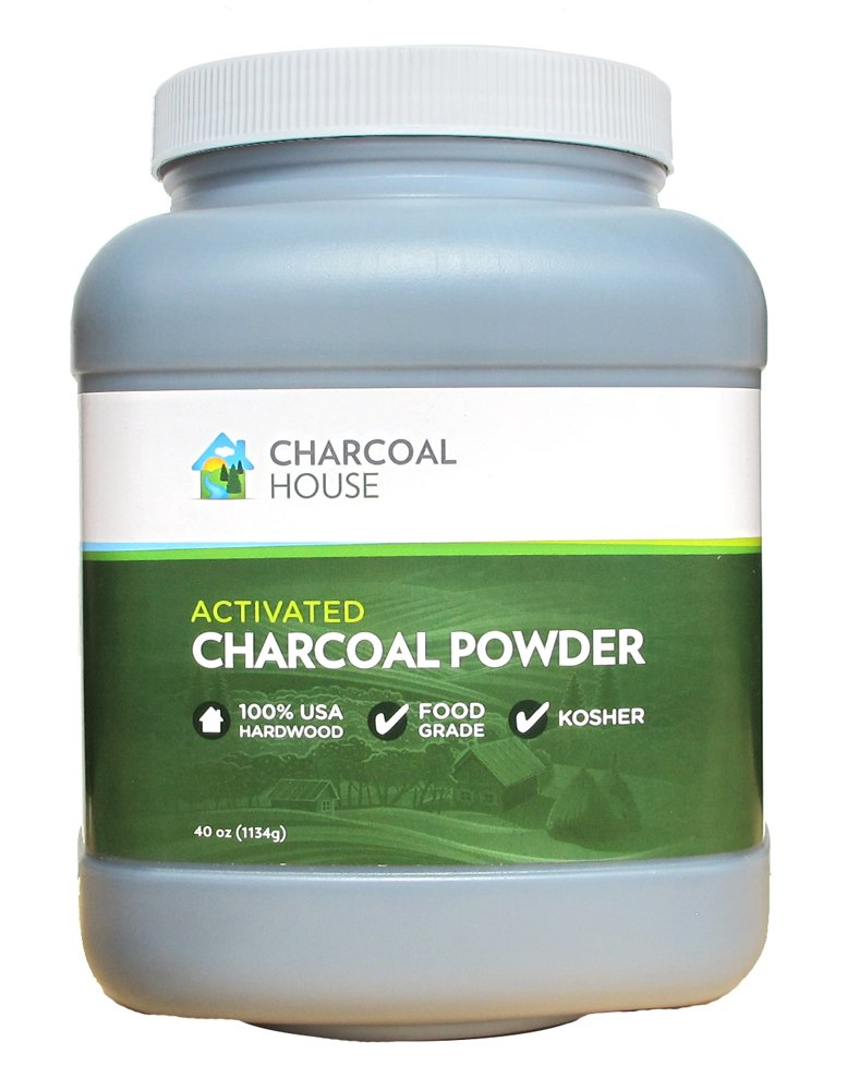 Activated Charcoal Powder - Food Grade 40 oz