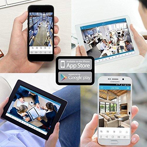 Amcrest 1080P WiFi Security Camera 2MP Indoor Pan/Tilt Wireless IP Camera, IP2M-841W (White)