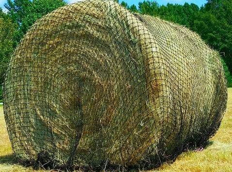 Round Bale Hay Net ()