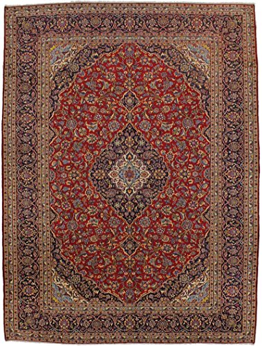 - Stunning Traditional S Antique Red Kashan Persian Style Rug Oriental Area Carpet 10X13