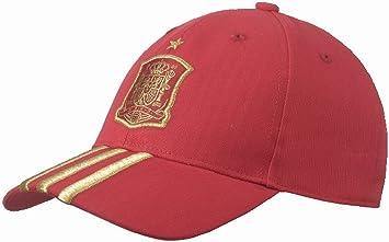 adidas Selección Española de Fútbol - Gorra Productos para Fans para Hombre, Color Rojo, Talla M: Amazon.es: Deportes y aire libre