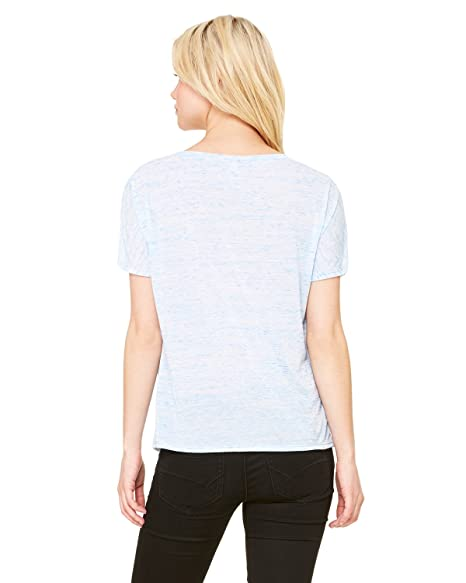 23f58c7d Image Unavailable. Image not available for. Color: By Bella + Canvas Ladies  Slouchy V-Neck T-Shirt ...