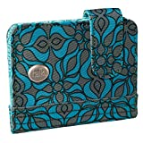 Haiku Women's Kismet Eco RFID Wallet, Sea Blue Geo Print