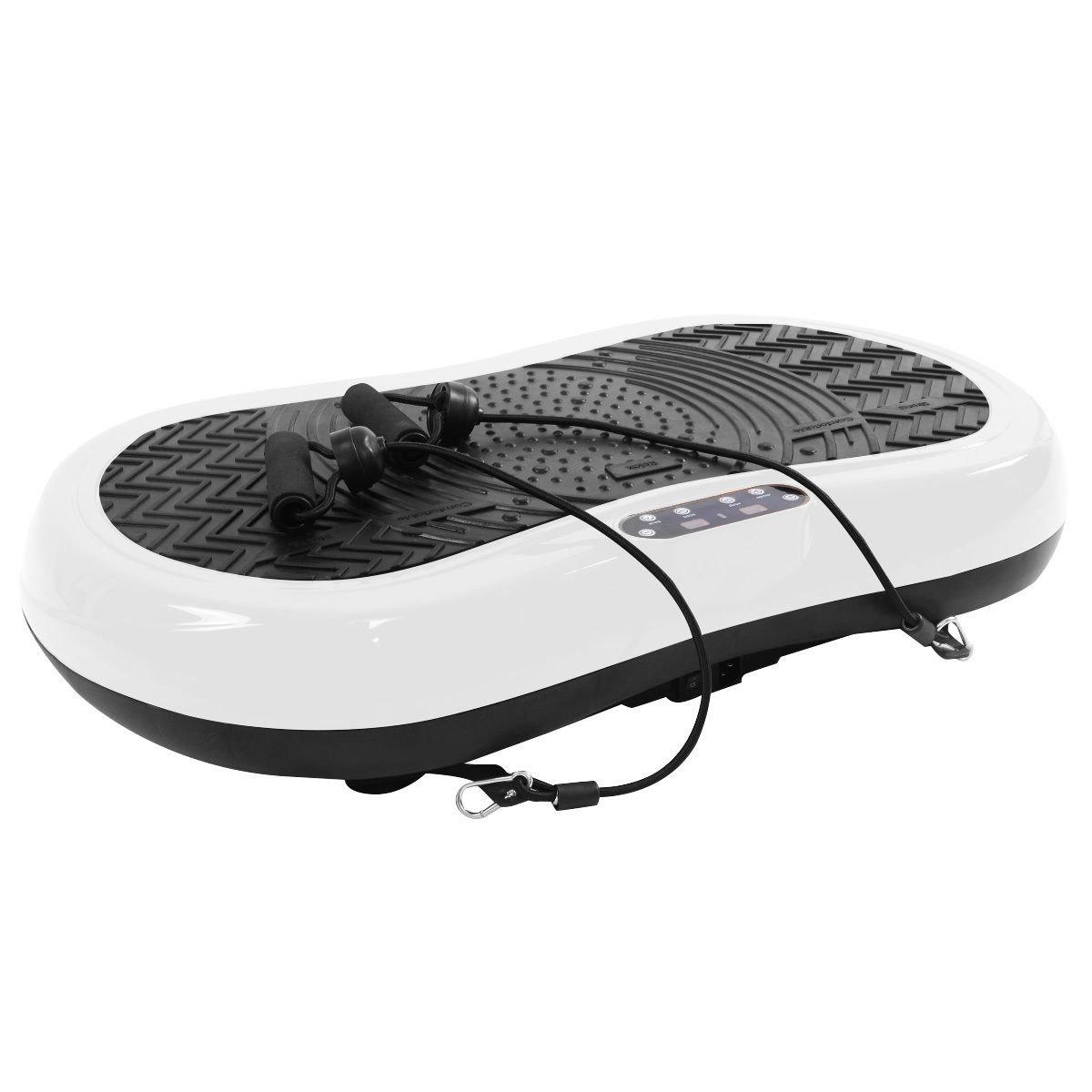 Tangkula Ultrathin Mini Crazy Fit Vibration Platform Massage Machine Fitness Gym (White) by Tangkula (Image #4)
