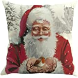 Clearance ! AmyDong Christmas Printing Dyeing Sofa Bed Home Decor Pillow Cover Cushion Cover (Multicolor D)