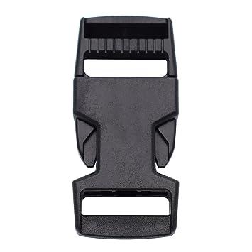 Hebilla lateral de plástico de 25 mm, paquete de 10 hebillas para mochila: Amazon.es: Hogar