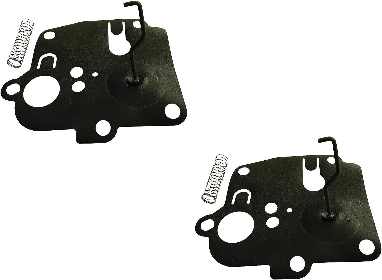 Confezione da 2 C/·T/·S Kit diaframma carburatore sostituisce Briggs /& Stratton 391681 per 3.5 3.75 Sprint